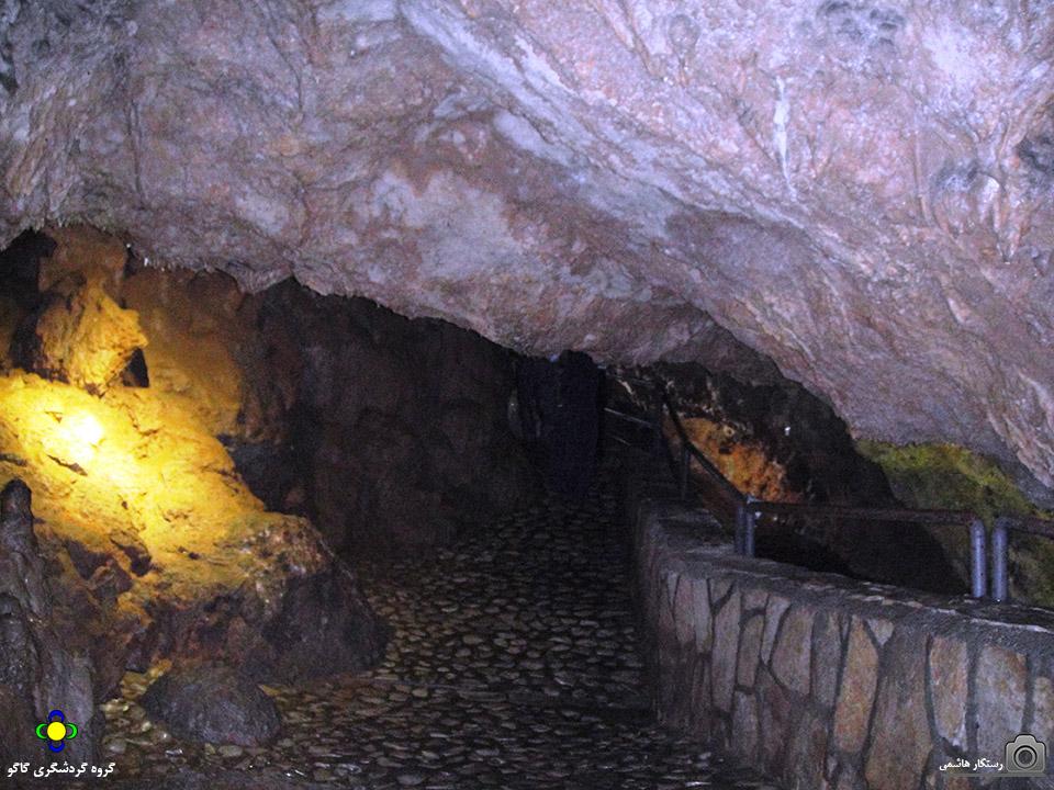 غار آبی قوری قلعه